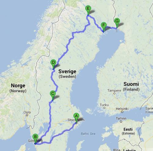 reiseroute.schweden